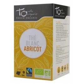 Touch Organic Thé blanc BIO à l'abricot 24 sachets 43g Touch Organic Accueil Onaturel.fr