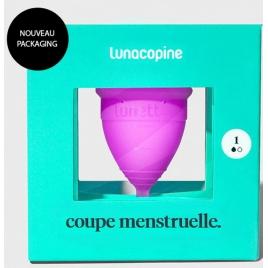 Coupe menstruelle LunaCopine Cynthia Rose taille 1 avec pochette