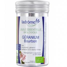 Ladrome Géranium Bourbon Bio 10ml Ladrome Huiles essentielles Onaturel.fr