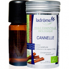 Ladrome Cannelle de Ceylan Bio huile essentielle 5ml Ladrome Aromathérapie Bio Onaturel.fr