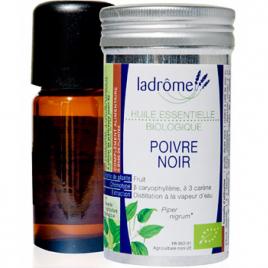 Ladrome Poivre noir Bio 10ml Ladrome Epices Bio Onaturel.fr