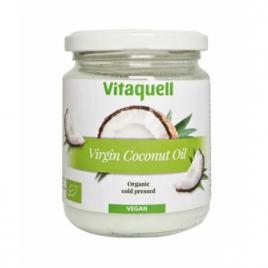 Vitaquell Huile de coco vierge Plaisir culinaire et soin corporel parfum noix de coco 200g Vitaquell Categorie temp Onaturel.fr