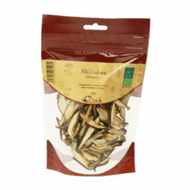Cook Shiitakes 25g Cook Epicerie Onaturel.fr
