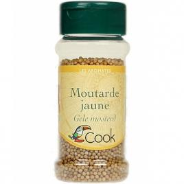 Cook Moutarde jaune 60g Cook Moutardes Bio Onaturel.fr