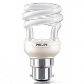 Philips Ampoule Eco. d'énergie 85% Tornado 15W B22 blanc chaud X 1