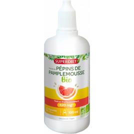 Super Diet Extrait de Pépins de Pamplemousse Bio 1120 mg 100ml Super Diet Categorie temp Onaturel.fr