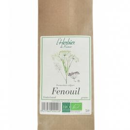 Herbier De France Fenouil graines 50g Herbier De France