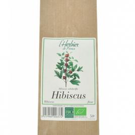 Herbier De France Hibiscus 50g Herbier De France Infusions Bio Onaturel.fr