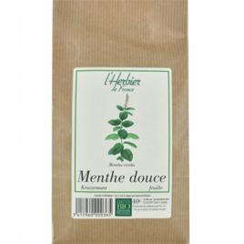 Herbier De France Menthe Douce Feuilles 40g Herbier De France