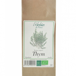 Herbier De France Thym Feuilles 50g Herbier De France Digestion Onaturel.fr