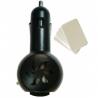 Zen Arôme Diffuseur d'Huiles Essentielles électrique pour voiture avec 5 buvards fournis Zen Arôme Aromathérapie Bio Onaturel.fr