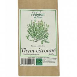 Herbier De France Thym citronné Feuilles 50g Herbier De France