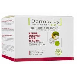 Dermaclay Baume fondant pour le corps soin nutritif 300ml Dermaclay  Soins hydratants Bio Onaturel.fr