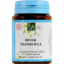 Belle et Bio Hiver Tranquille bio 60 gélules 18g Belle et Bio Compléments Alimentaires Bio Onaturel.fr