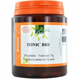 Belle et Bio Tonic bio 200 gélules 75g Belle et Bio Compléments Alimentaires Bio Onaturel.fr