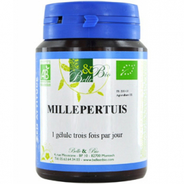 Belle et Bio Millepertuis 200 gélules 53g Belle et Bio Anti-stress/Sommeil Onaturel.fr
