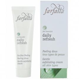 Farfalla Daily Refresh Peeling doux Aloe et micro billes de Riz 30ml