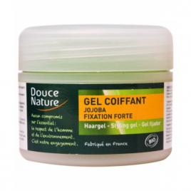 Douce Nature Gel coiffant fixation forte à l'huile de Jojoba 100ml Douce Nature Shampooings Bio et Soins capillaires Onaturel.fr