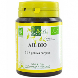 Belle et Bio Ail bio 60 gélules Belle et Bio Cholestérol Onaturel.fr