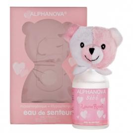 Alphanova Parfum bébé Louna Rose pour filles 100ml Alphanova Soins / Hygiène bébé Onaturel.fr