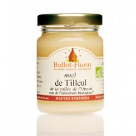 Ballot Flurin Miel de Tilleul bio 125g Ballot Flurin Alimentation Bio Onaturel.fr