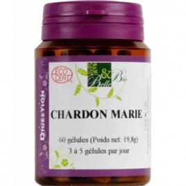Belle et Bio Chardon marie bio 60 gélules Belle et Bio Compléments Alimentaires Bio Onaturel.fr