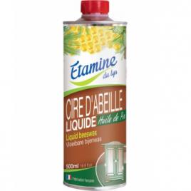 Etamine du Lys Cire d'abeille liquide Huile de Pin 500ml Etamine du Lys Meubles/Cuir Bio Onaturel.fr