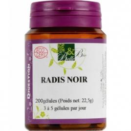 Belle et Bio Radis noir bio 200 gélules Belle et Bio Compléments Alimentaires Bio Onaturel.fr