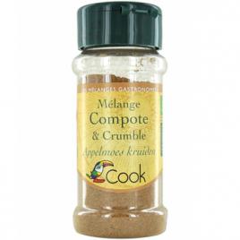 Cook Mélange Compote crumble 35g Cook Mélange d'épices bio Onaturel.fr
