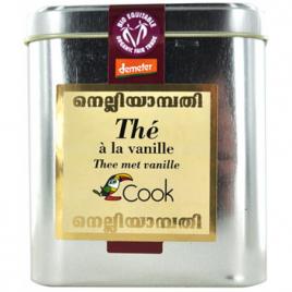 Cook Thé noir à la vanille 180g Cook Thé noir bio Onaturel.fr