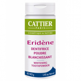 Cattier Eridene Poudre Blanchissante naturelle 40 g Cattier Dentifrices bio Onaturel.fr
