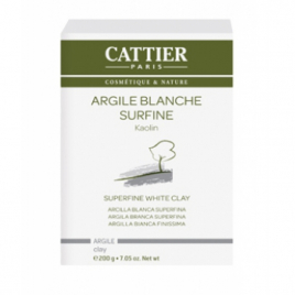 Cattier Argile Blanche Surfine Kaolin 200 g Cattier