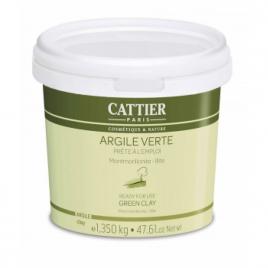 Cattier Argile verte Montmorillonite Prête à l'Emploi pot de 1.350 kg Cattier