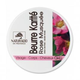 Naturado Beurre de karité Rose musquée 150ml