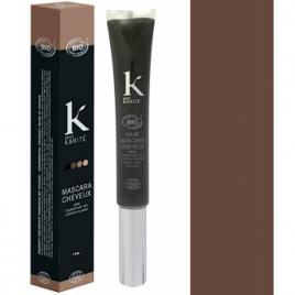 K Pour Karité Mascara cheveux Couverture des cheveux blancs n°4 Châtain Moyen 15g