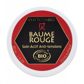 Phytema Baume rouge Chaleur d'Asie anti douleurs musculaires 30ml Phytema Aromathérapie Bio Onaturel.fr