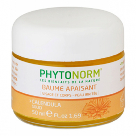 Phytonorm Baume au Souci naturel Nourrit, apaise, adoucit 50ml Phytonorm Categorie temp Onaturel.fr