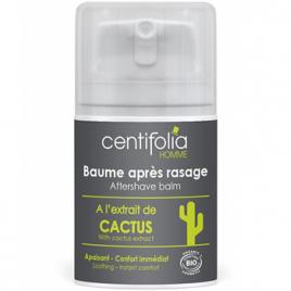 Centifolia Baume après rasage à l'extrait de Cactus confort immédiat 50ml