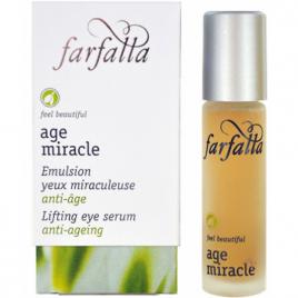 Farfalla Age Miracle Emulsion yeux miraculeuse Centella et Nivéole d'été roll on 10ml Farfalla Soins anti-âge Bio Onaturel.fr