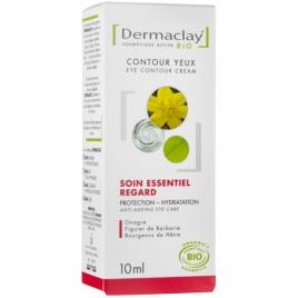 Dermaclay Soin essentiel Contour Yeux Performance Anti âge Airless 10ml Dermaclay  Soins des yeux Bio Onaturel.fr