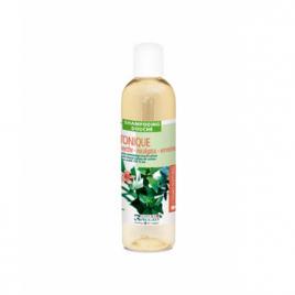 Cosmo Naturel Mignonnette shampoing douche Tonique 2 en 1 Menthe poivrée Eucalyptus Verveine 50ml