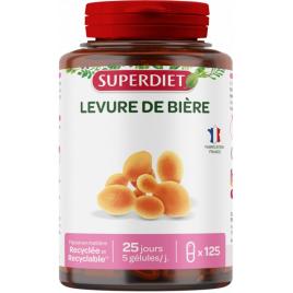 Super Diet Levure de Bière 125 gélules Super Diet Categorie temp Onaturel.fr