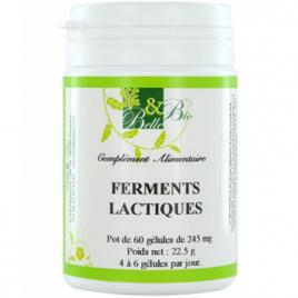 Belle et Bio Ferments lactiques naturels 200 gélules 22.5g Belle et Bio Digestion Onaturel.fr