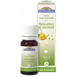 Biofloral Perles d'huiles essentielles complexe Relaxation et Sommeil 20ml Biofloral Anti-stress/Sommeil Onaturel.fr