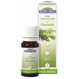 Biofloral Perles d'huiles essentielles complexe Féminité 20ml Biofloral