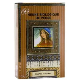 Nomade Palize Henné biologique de Perse Chatain 100g Nomade Palize Hygiène Onaturel.fr