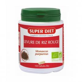 Super Diet Levure de Riz rouge bio 150 gélules Super Diet Categorie temp Onaturel.fr