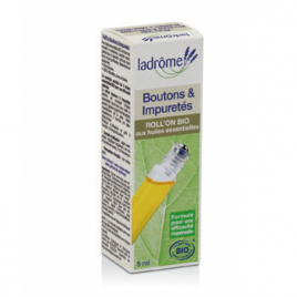 Ladrome Roll on Boutons et Impuretés 5ml Ladrome Roll-on huiles essentielles Bio Onaturel.fr