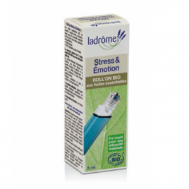 Ladrome Roll on Stress et Emotions 5ml Ladrome Roll-on huiles essentielles Bio Onaturel.fr