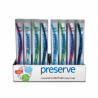 Preserve Brosse à dents adultes medium 100% recyclable Preserve Dentifrices bio Onaturel.fr
